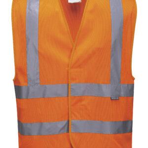 Hi Visibility Mesh Vest