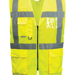 Executive Hi Vis Vests with Pockets