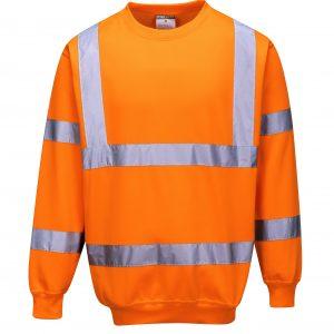 Rail Spec Hi-Vis Sweatshirts