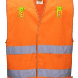 Rail Spec Hi Vis LED Vest