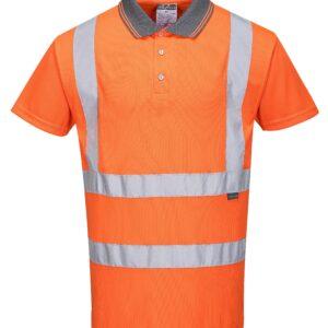 Rail Spec Hi-Visibility Polo Shirts