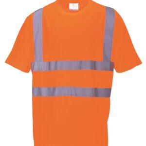 Rail Spec Hi-Vis Orange T-Shirts