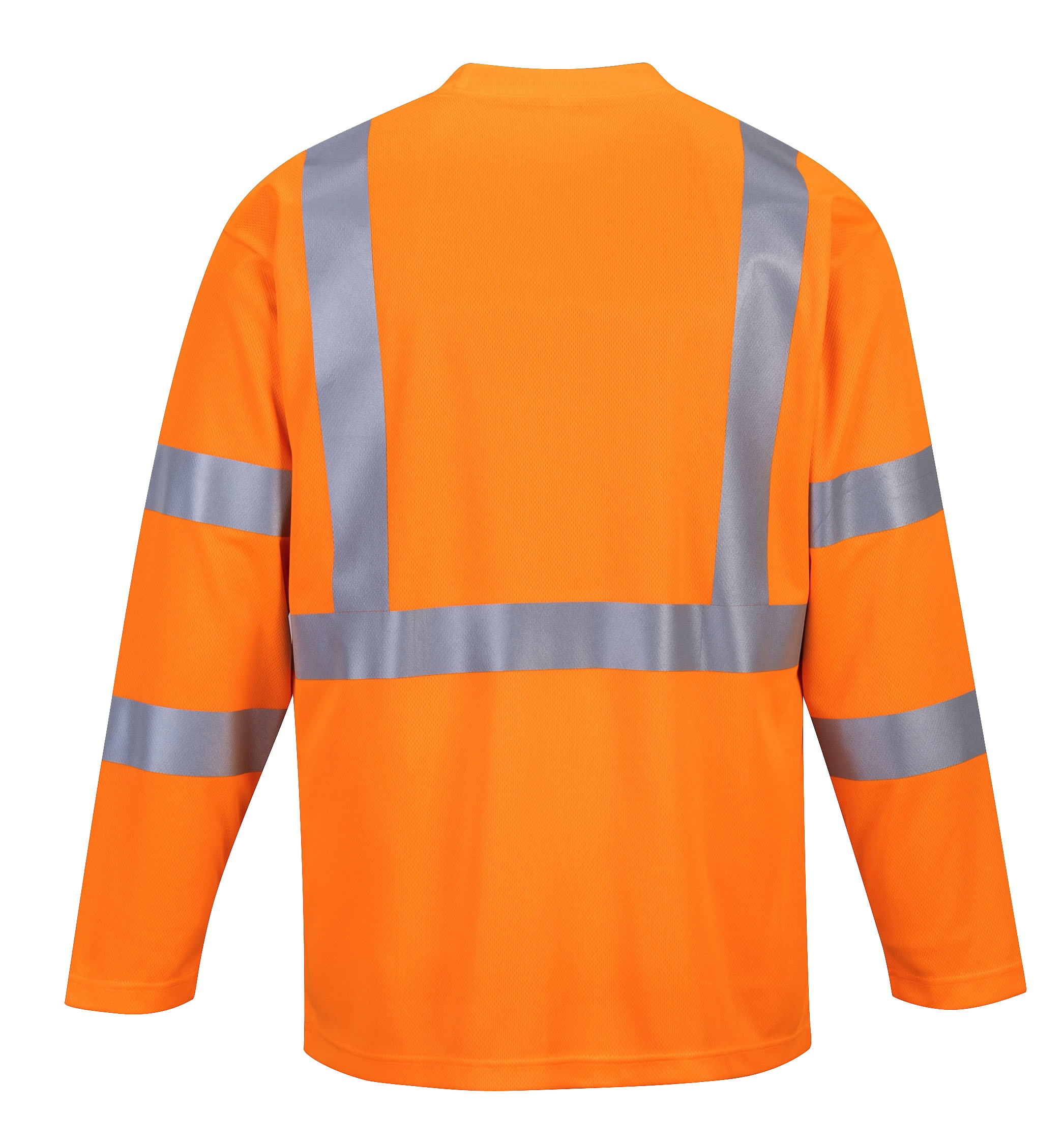 51afb2599 S191 (Orange) Hi-Vis Long Sleeve Pocket T-Shirt