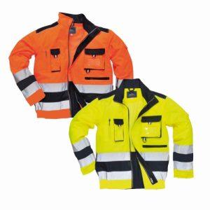 Polycotton Hi Visibility Coats