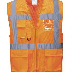 Rail Spec Hi Vis Executive Vest