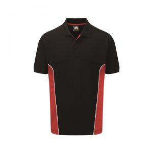 2 Tone Polo T Shirts - Contrast