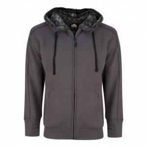 1285 Crane Fur-Lined Hooded Sweatshirt